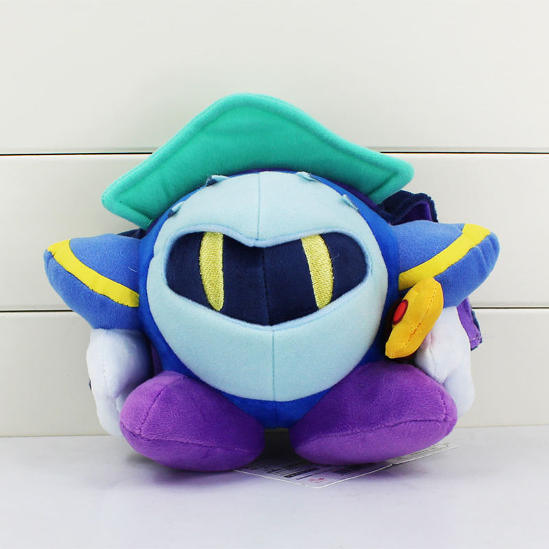 """Hot Sale 1Pcs Anime Kirby Plush Meta Knight Stuffed Plush Toy Soft Dolls With Tag 7""""18CM Great Gift For Kids(China (Mainland))"""