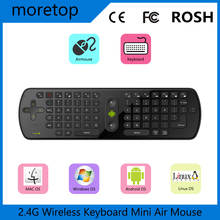 10PCS Measy Air Mouse RC11 2.4GHz Mini Wireless Keyboard and mouse Gyro Handheld for MX M8S S905 MX Smart TV IPTV Android TV BOX