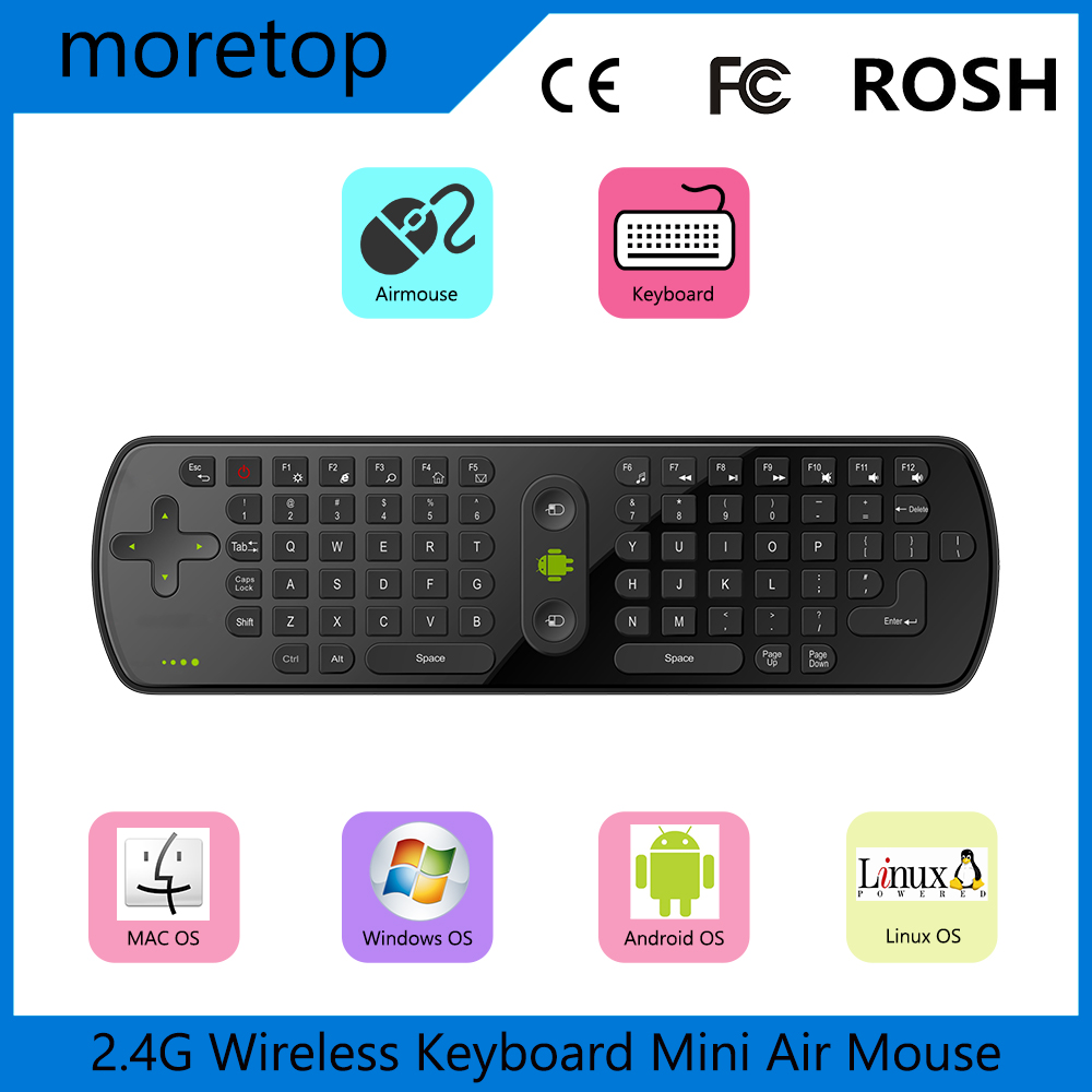 10PCS Measy Air Mouse RC11 2.4GHz Mini Wireless Keyboard and mouse Gyro Handheld for MX M8S S905 MX Smart TV IPTV Android TV BOX(China (Mainland))