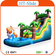 2016 Best Slides! Commercial Grade Inflatable Water Slides, Giant Inflatable Slide For Sale(China (Mainland))