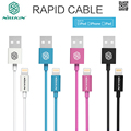 NILLKIN Rapid MFI certification USB Cable For Apple Lightning Port Devices iPad iPod iPhone 5 5s