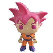 FUNKO POP Anime Dragon Ball MAJIN VEGETA SUPER SAIYAN BROLY GOKU VEGITO 3 Vinil Figura de Ação Brinquedos Para As Crianças de Natal presente(China)