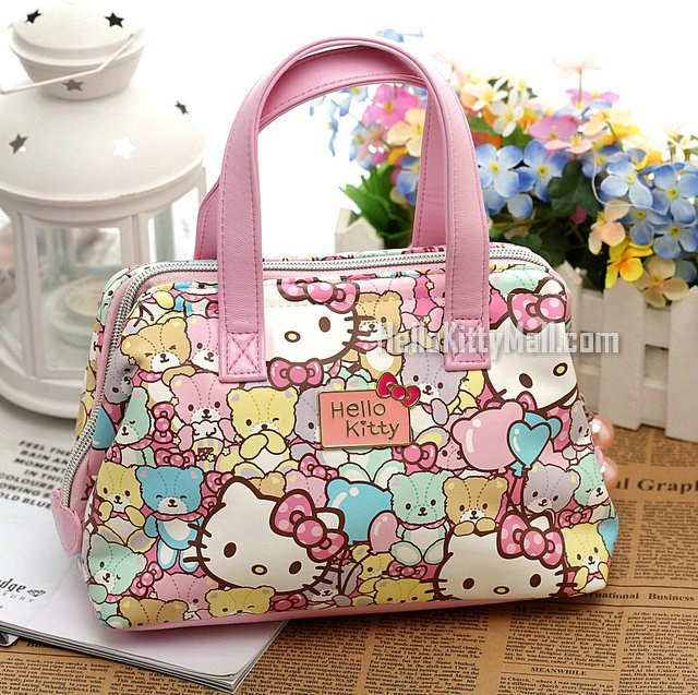 Sanrio Hello Kitty Women Casual Bags Women Handbag Bear Bag Women Shopping Bag Mini Bags For Girls(China (Mainland))