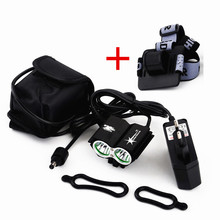 Buy SolarStorm 2x XM-L U2 LED 5000Lm Cycling Front Bicycle Lamp Bike Light + 6400mAh Battery + Charger + Headband for $17.41 in AliExpress store