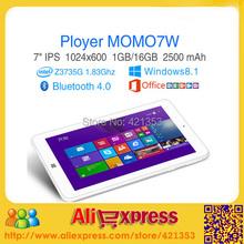 "2015 New  Cheapest 7 Inch Windows 8 Tablet PC Ployer MOMO7W Intel Atom Z3735G Quad Core 7"" IPS screen RAM 1GB ROM 16GB HDMI(China (Mainland))"