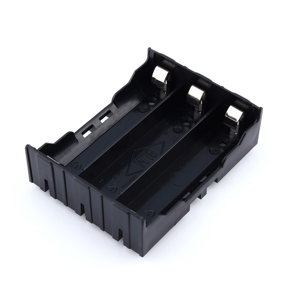 """18650 Battery Holder Case With 6"""" Leads For Soldering DIY Lithium Bat"""