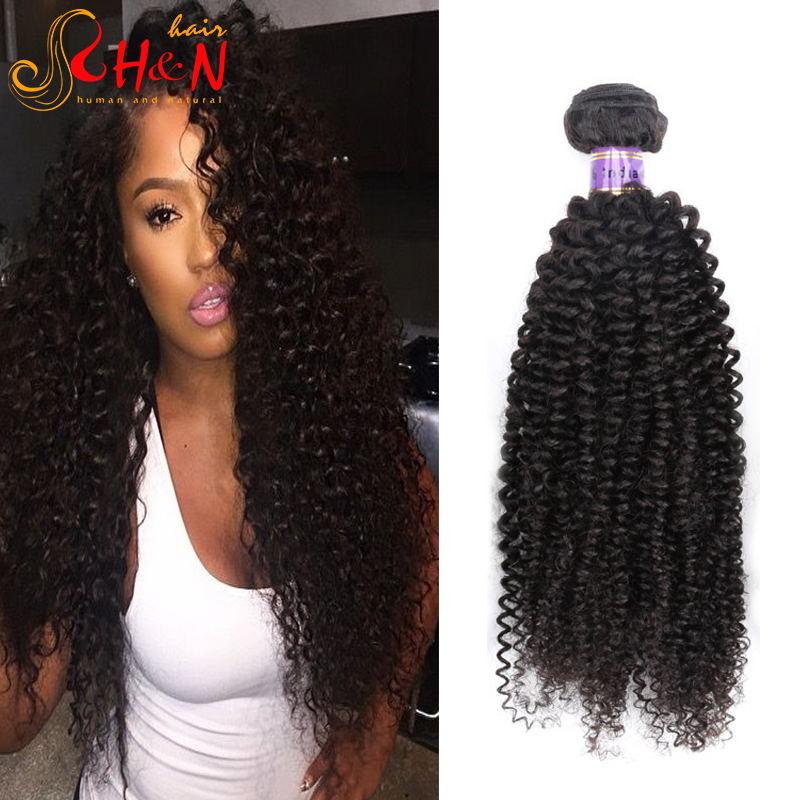 Beach Curl Virgin Hair Indian Curly Virgin Hair 9a Grade