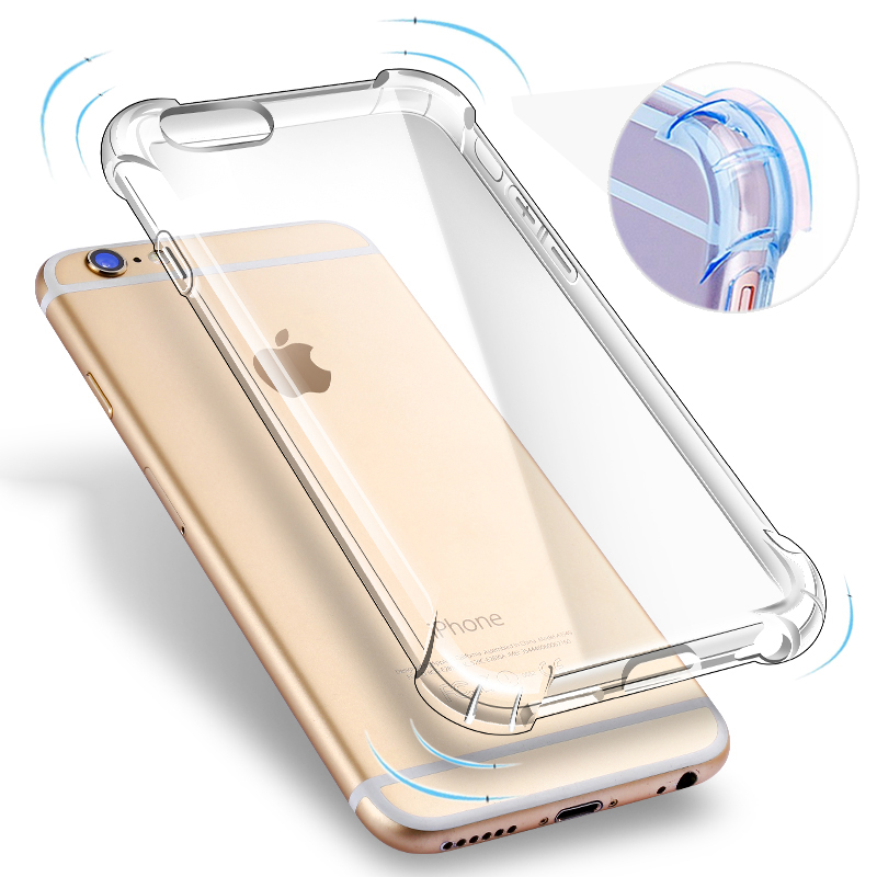 Phone Cover for Apple iPhone 6 6s Case Crystal Clear Soft TPU Silicone Gel Funda for iPhone 6 plus / 6s plus Back Coque Capa(China (Mainland))