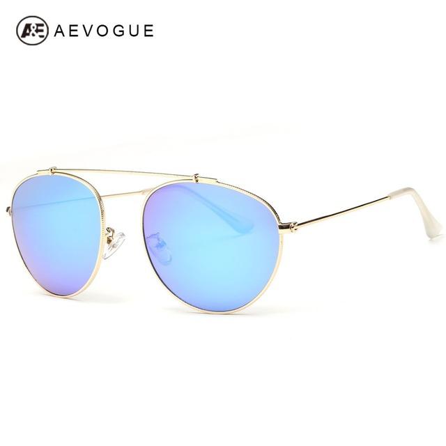 Aevogue людей мужская летняя стиль одной f-клещи дизайн вождения очки сплава рама солнцезащитные очки óculos De Sol AE0325