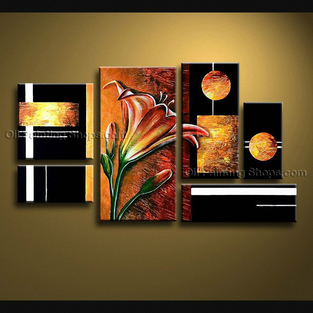 Extra large canvas wall art contemporary for living room for Walmart art decor