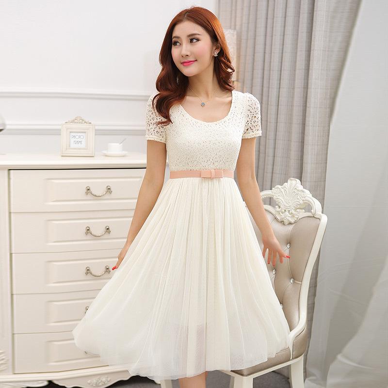 Vestido de verano blanco barato compra lotes baratos de for Suelto blanco suelto barato