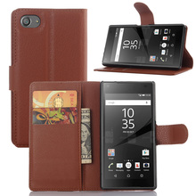 Wallet PU Leather Cases Sony Xperia Z5 Compact E5803 E5823/Xperia Mini 4.6 inch Magnetic Filp Fundas Holder Stand Phone Cover - Online Store 222916 store