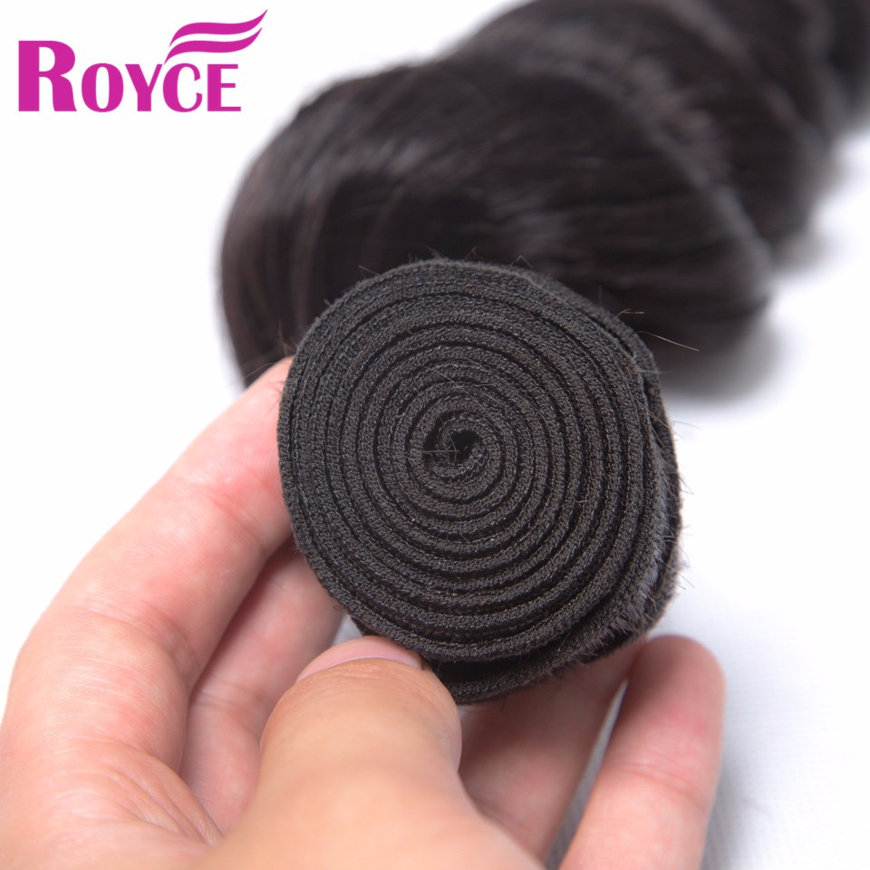 Hot Brazilian Loose Wave Virgin Hair 4Bundle Deals 7A Rosa Hair Products Human Hair Soft Loose Wave Brazilian Hair Weave Bundles