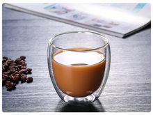 1 шт бутылка для воды кофейная чашка набор термостойкая Двойная Стенка стеклянная чашка ПИВО ручной работы пивная кружка чай виски стеклянн...(China)