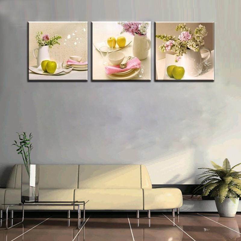 Online get cheap fruit kitchen decor for Deco murale kitchen