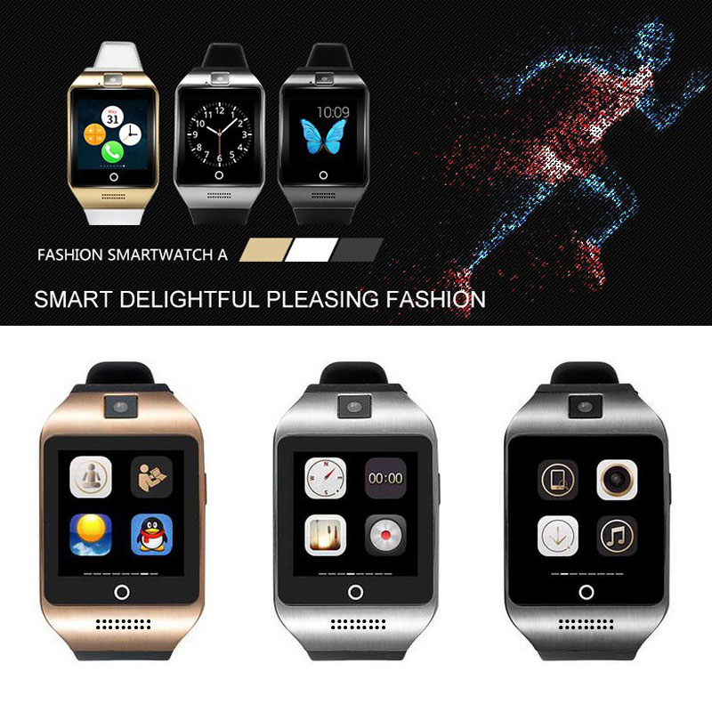 2016 NEW Bluetooth smart watch Apro Q18s Support NFC SIM GSM Video camera Support Android/IOS Mobile phone pk GT08 GV18 U8(China (Mainland))