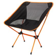 Portable Folding fishing chair Lightweight Camping Stool Seat Chair Support Fishing Festival Picnic BBQ Beach Party