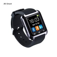 Bluetooth Smart Watch u80 Wrist SmartWatch for Samsung IOS Iphone Huawei Xiaomi Android Phone Smartphone pk u8 dz09 smartwatch