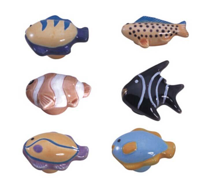 Fish Kitchen Cabinet Knobs