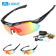 Buy INBIKE Cycling Glasses UV Proof Polarized 5 Lens 3 Colors Frame Sunglasses Bike Bicycle Glasses Eyewear Goggle 619 for $12.99 in AliExpress store