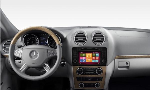 2-Din Head Unit Car DVD For Mercedes Benz R class W251 R280 R300 R320 R350 R500 with GPS radio Bluetooth RDS IPOD SWC Free Map(China (Mainland))