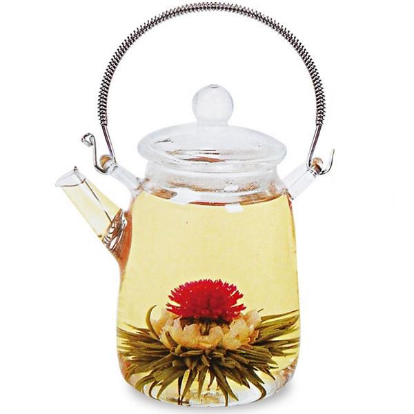 12 pcs blooming flower tea Kinds Handmade Blooming Flower Flowering Green Artistic Tea Ball free shipping<br><br>Aliexpress