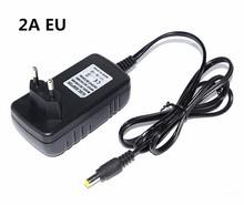 Led Strip Power Supply 2A 3A Adapter for RGB Light AC 110-240V to DC 12V IR Remote Controller DC Receiver For SMD 5050 3528 RGB(China)
