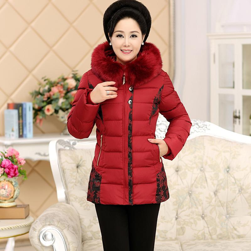 Winter Jacket Popular Women Cotton Coats Womens New Style Tops Coat Women Elegant Jacket Female Warm Cotton Parkas ClothingОдежда и ак�е��уары<br><br><br>Aliexpress