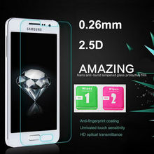 0.26mm 9H 2.5D Tempered Glass Samsung Galaxy J1 J2 J3 J5 J7 2016 S4 S5 Alpha Grand Prime Screen Protector Film Retail Box - ToolTech service centre store