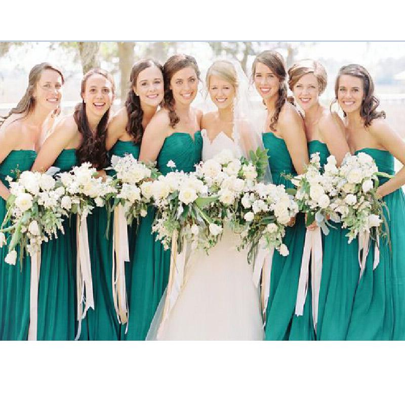 Vestidos de damas verde jade – Vestidos de moda de esta temporada