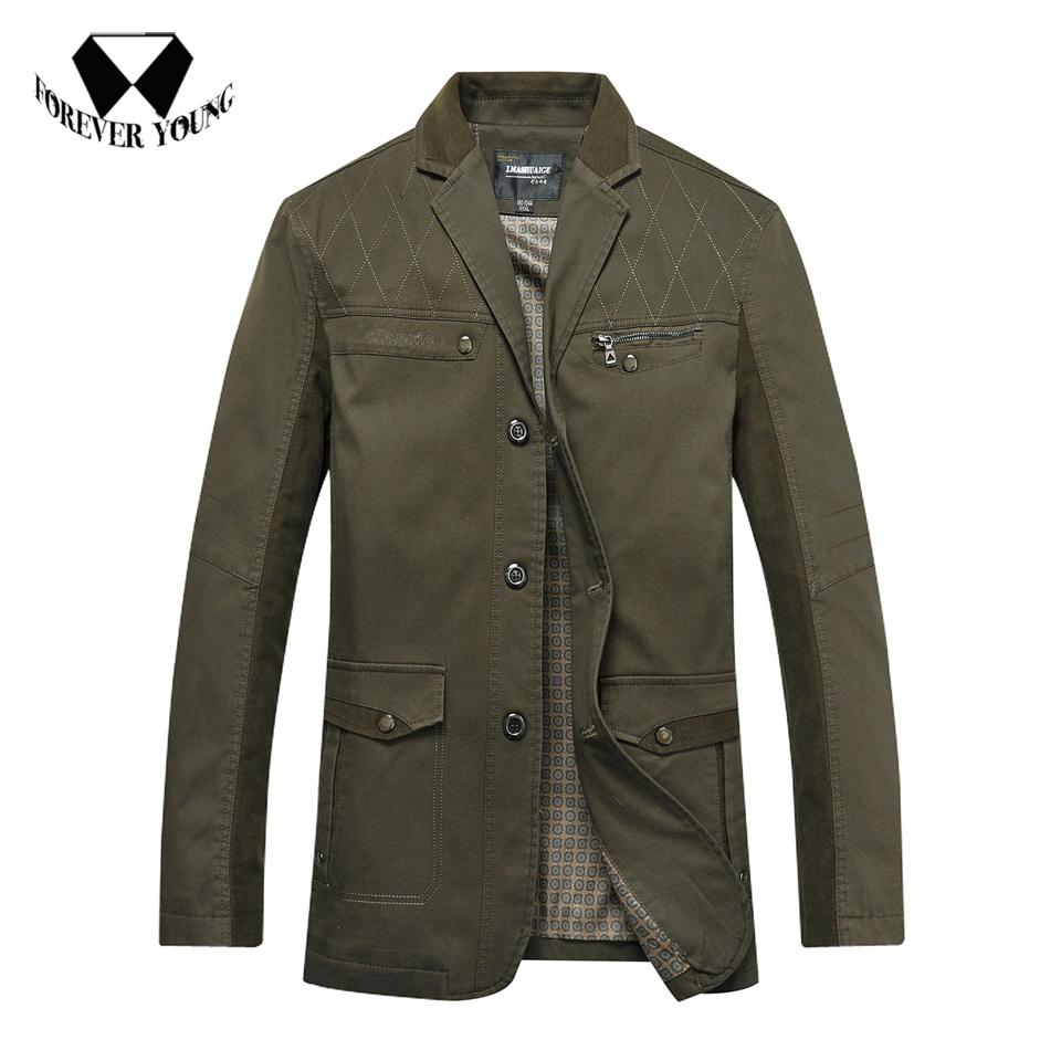 New in 2014 2 Color Mens 100% Cotton Formal Business Suit with Pockets Slim Fashion Brand Suit Blazer Jacket Outwear Men 5507Одежда и ак�е��уары<br><br><br>Aliexpress