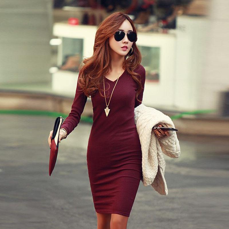 Женское платье V Neck Dresses Vestido /v Femininos XXL Dresses 307