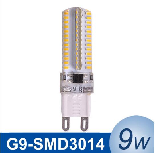 6pcs/lot G9 LED Corn Light Lamp 9W SMD3014 AC220-240V LED Bulb Energy Saving Sillcone Body More Discount Free Shipping<br><br>Aliexpress