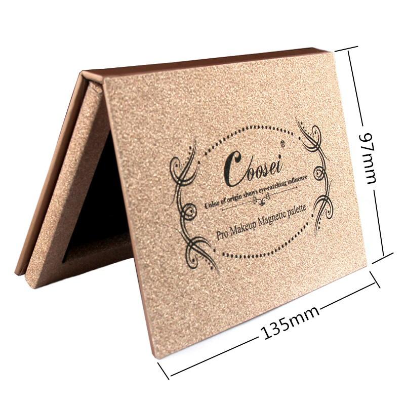 New Brand DIY Small Rose Golden Z Paleta De Maquiagem Bronzer Powder Blush Blusher Eye Magnetic Shadow Makeup Mini Palette Naked(China (Mainland))