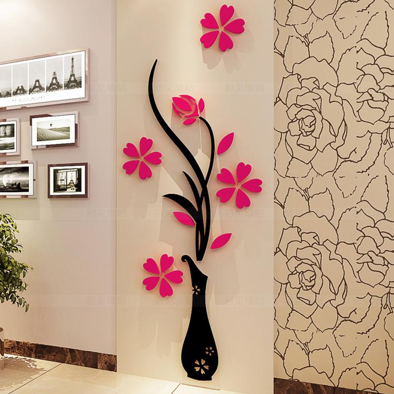 Promoci n de 3d letras de la pared compra 3d letras de for Paredes en 3d decoracion