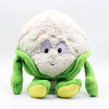 """Frete grátis Frutas E Legumes couve flor Cogumelo blueberry Starwberry 9 """"Soft Plush Doll Toy Bens Em Estoque(China)"""