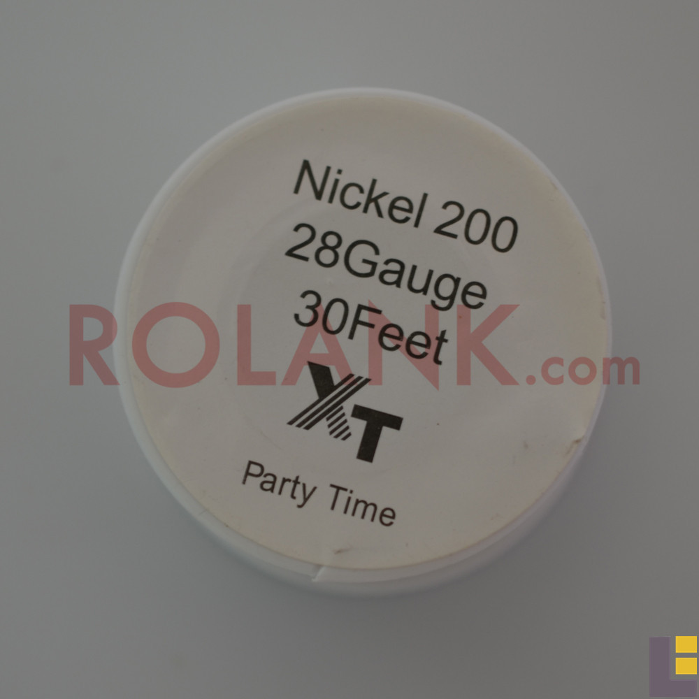 Free shippingPure Nickel Ni200 Wire Temperature Control 22 24 26 28 30 32 Gauge for DIY Atomizer TC Mod RBA Coil(China (Mainland))