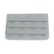 5 Pcs Women Bra Strap Extension 3 Rows 4 Hooks Underwear Buckle