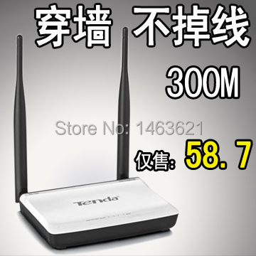 [ Package installed N300 Wireless Router ] Tenda Tenda 300M wireless router wifi through walls(China (Mainland))
