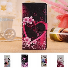 Buy Flower Leather Phone Case Lenovo P70 P70T Cases Lenovo P70 Cover Shell Flip Stand Capa Fundas P70 Bag Wallet Card Holder for $3.02 in AliExpress store