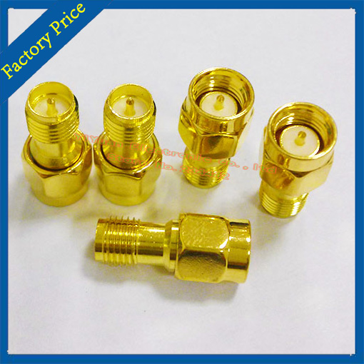 RP-SMA Female To SMA Male Adapter Straight RF Adapter Converter RP-SMA Female Plug To SMA Jack Adapter Ham Radio Connector 50PCS<br><br>Aliexpress