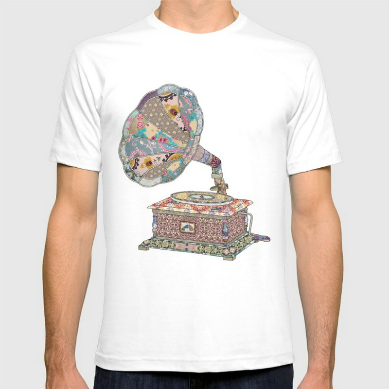 SEEING SOUND New Fashion Men's T-shirts Cotton t shirts Man Clothing Wholesale(China (Mainland))