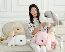 50 см Кролик Куклы Плюшевые Классический Лежал Кролик Игрушки Amuse Лолита Свисающий кролик Каваи Плюшевые Подушки для Детей Друг девушки