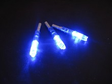 6pcs Automatically Lighted nock compound bow led lighted arrow nock Blue for hunting shooting archery