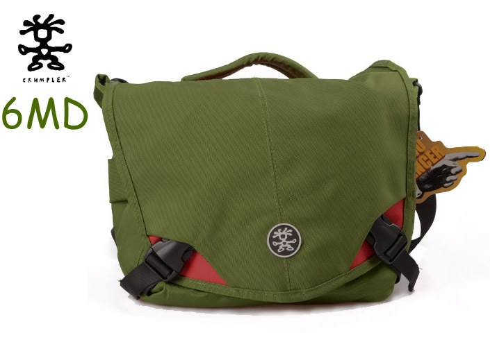 Original Crumpler Green 6 Million Dollar Home SLR Camera bag waferproof and Shockproof for Canon Nikon(China (Mainland))