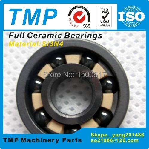 627CE Full Ceramic Bearing (7x22x7mm) Si3N4 material Deep Groove Ball Bearing High Temperature Anti friction bearings(China (Mainland))