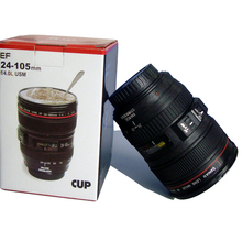 Camera Lens Mug Funny Cool Coffee Beer Cup Travel Items Gear Stuff Accessories Supplies Products(China (Mainland))