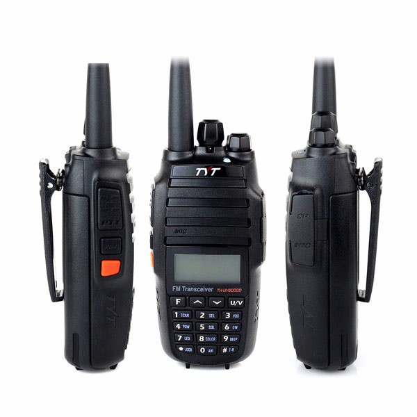 New TYT TH-UV8000D Portable radio TH UV8000D walkie talkie Handheld Transceiver Dual Band VHF/UHF 2x128 CH 10W Two way radio(China (Mainland))