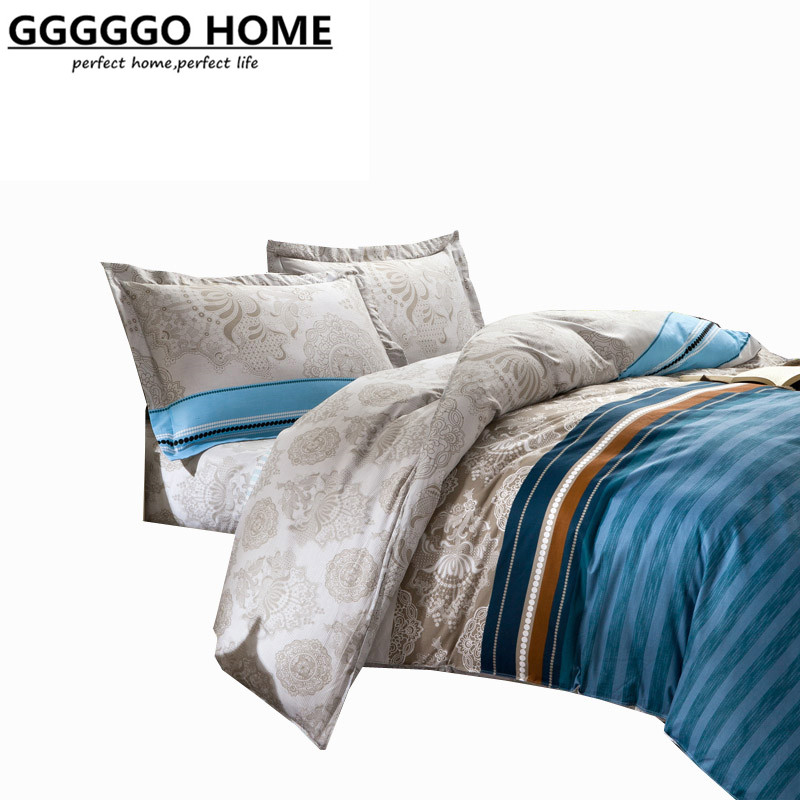 Buy gggggo home king queen full twin size - King size bed sheet set ...