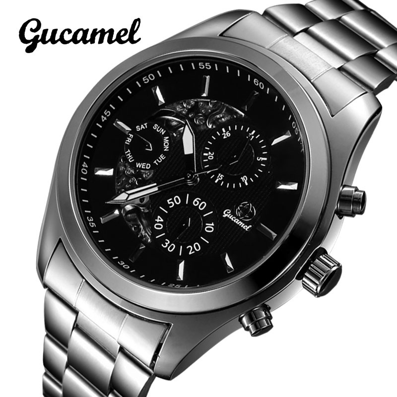 Men Watches Business Watches for Men Luxury Brand 10cm Waterproof Male Mechanical Watches free shipping